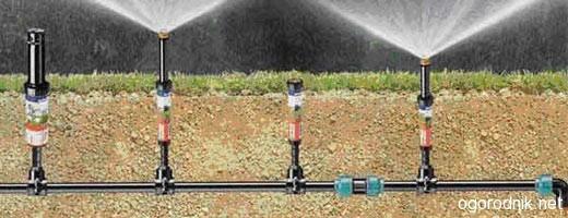 Технология обустройства автоматического полива участка