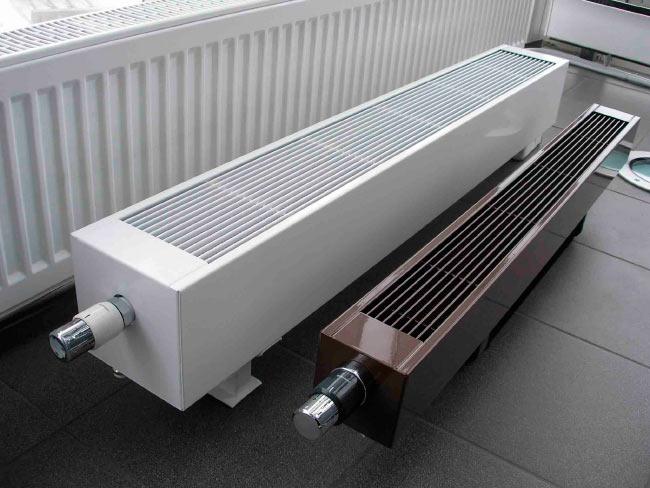 Алюминиевый конвектор