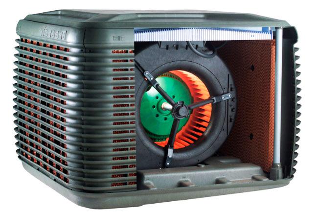 Система испарительного охлаждения