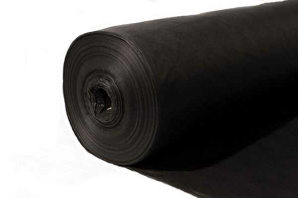 Черный укрывной материал